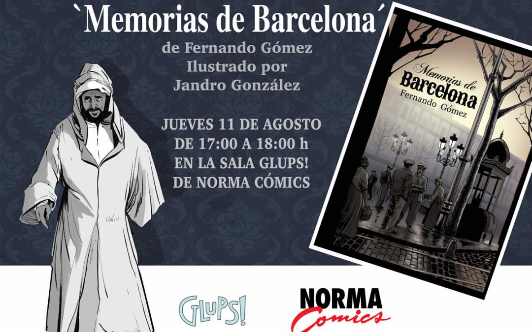 """Presentación del libro """"Memorias de Barcelona"""""""