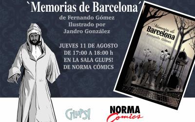 Presentación del libro «Memorias de Barcelona»